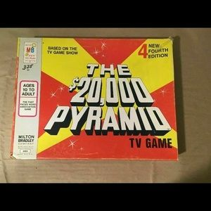 THE $20,000 PYRAMID BOARD GAME 4TH EDITION 1974